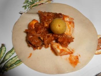 montage de Empanada de carne