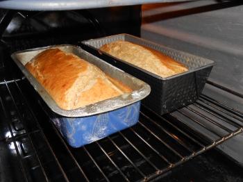 Gâteaux dans le four