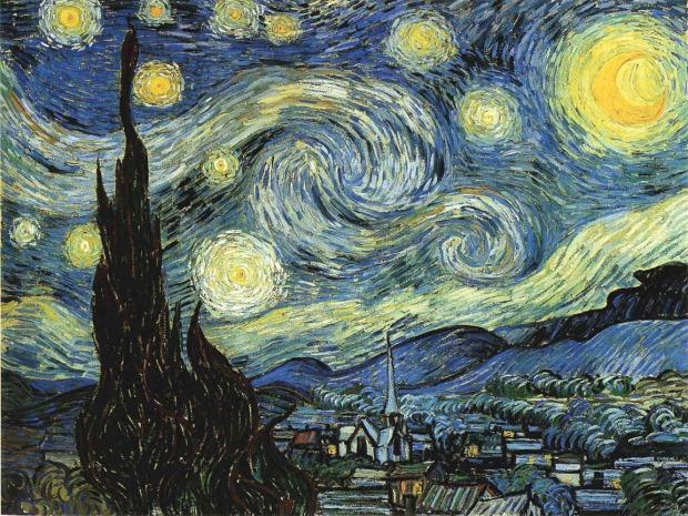 Nuit Etoilée de Vincent Van Gogh