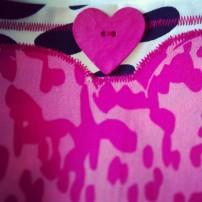 Sac à Main Pink Cow