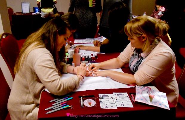 weleda bioty tour toulouse, toulouse, apéro beauté, blog, mosaique de vero, bar à ongles, nail art, événement