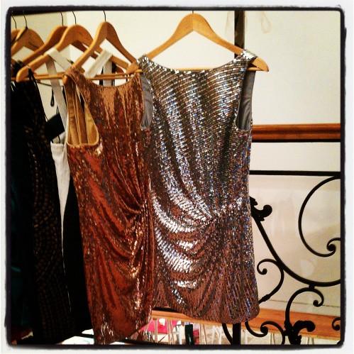 Une super belle robe en location au Vestibule, idéale pour le révéillon