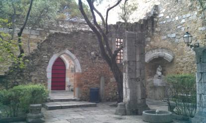 lisboa, castelo sao jorge, voyage